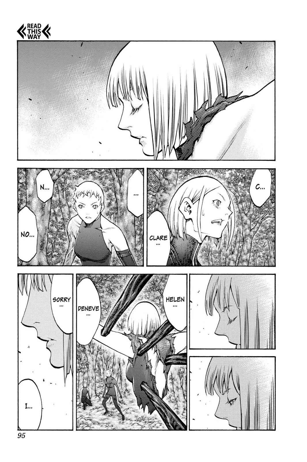 Claymore Chapter 105 Page 2
