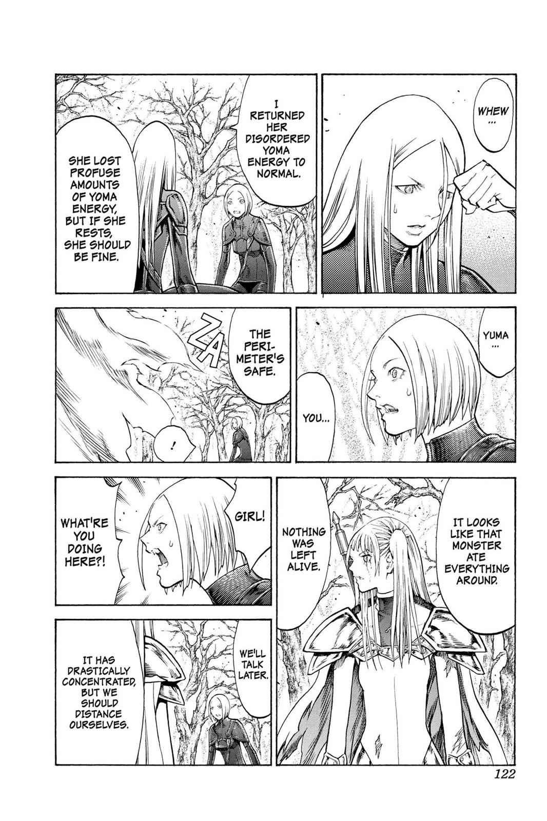 Claymore Chapter 105 Page 28