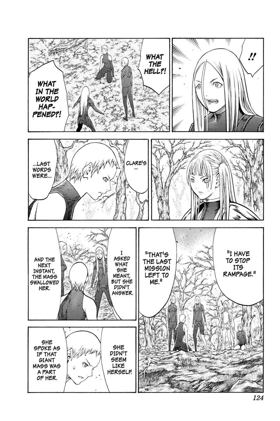 Claymore Chapter 105 Page 30