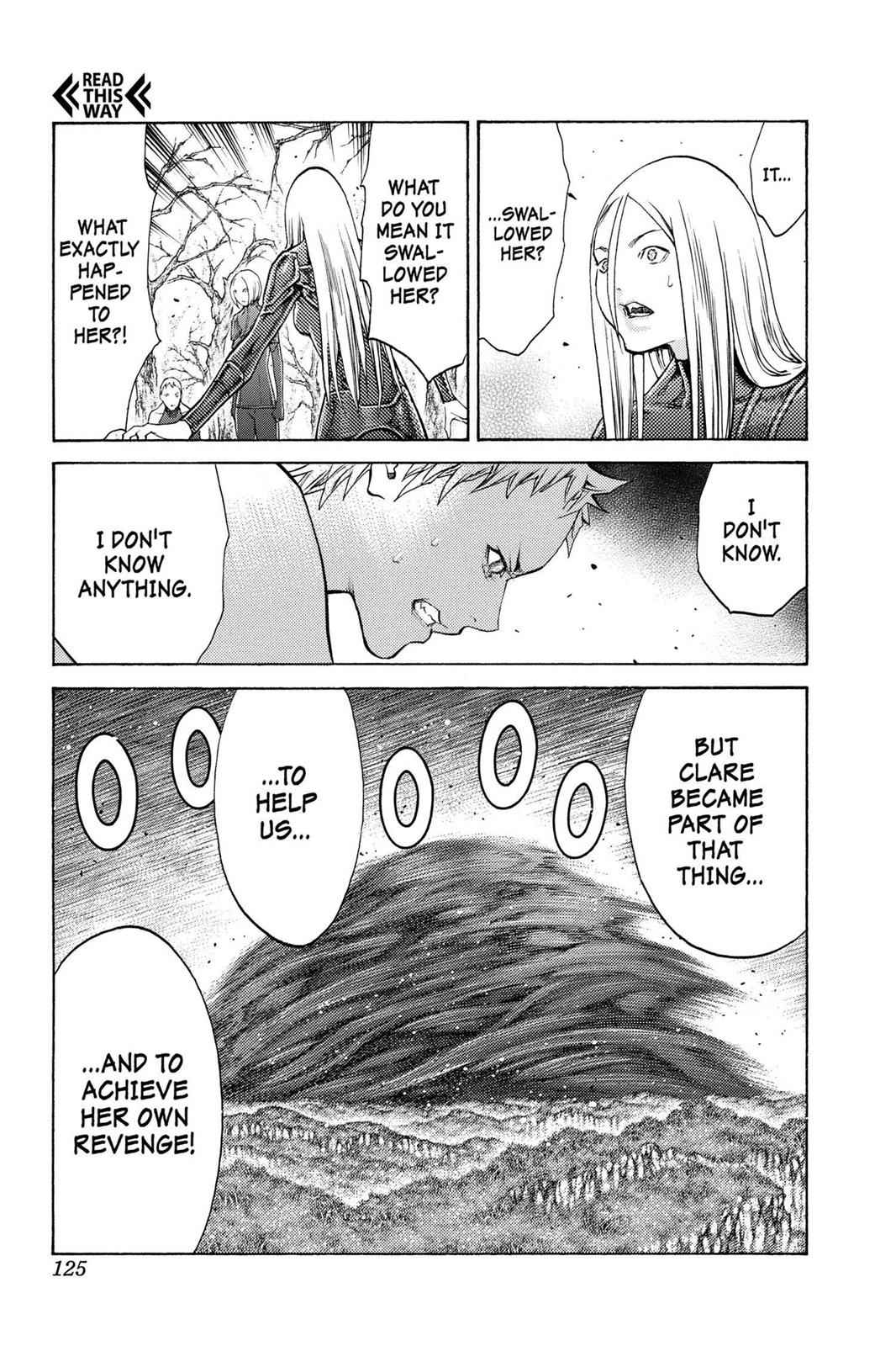 Claymore Chapter 105 Page 31
