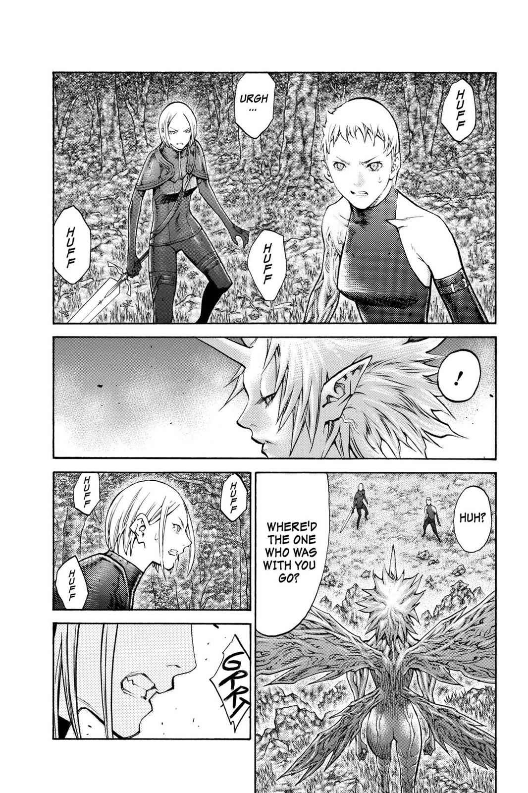 Claymore Chapter 105 Page 5