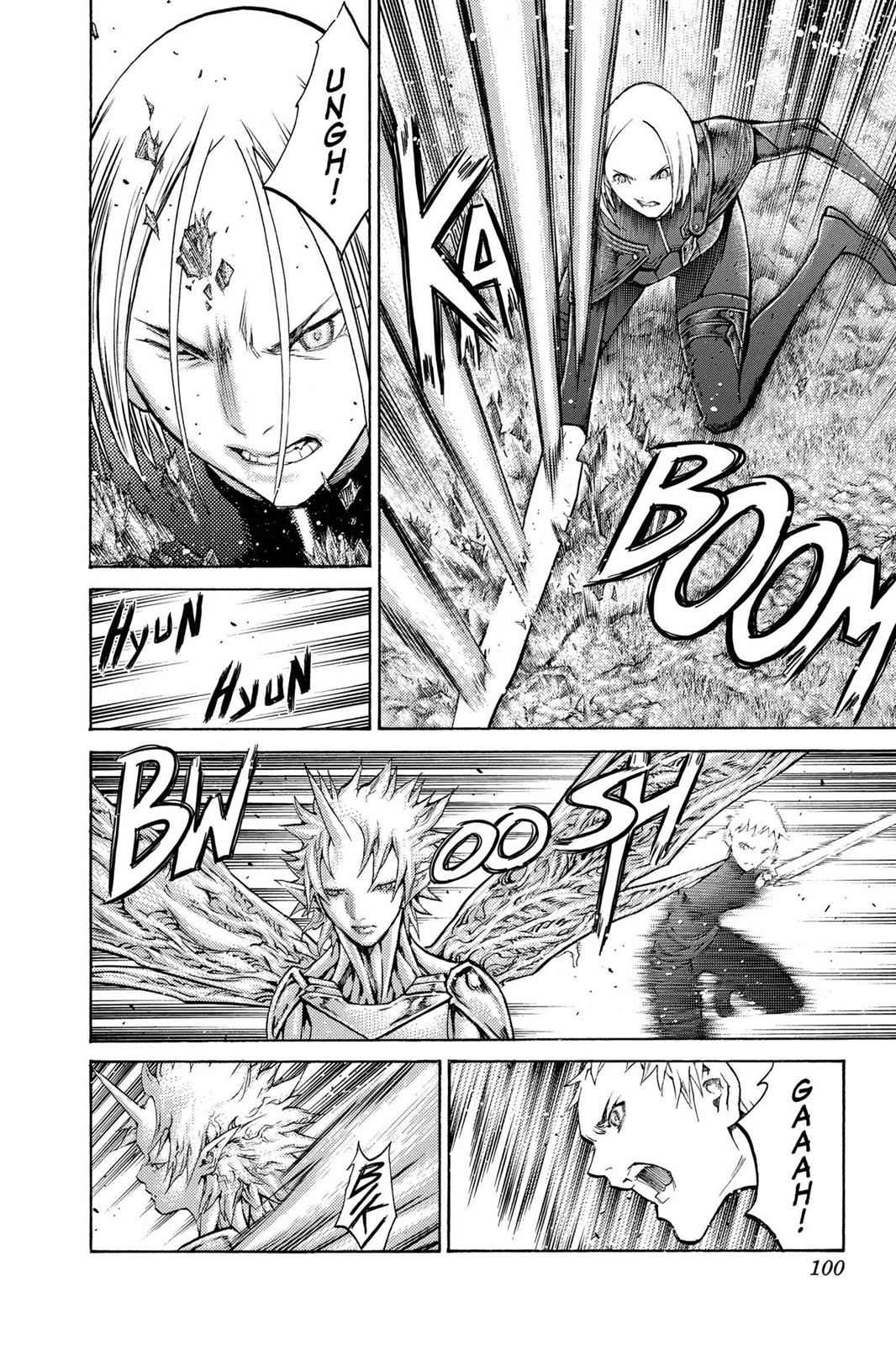 Claymore Chapter 105 Page 7