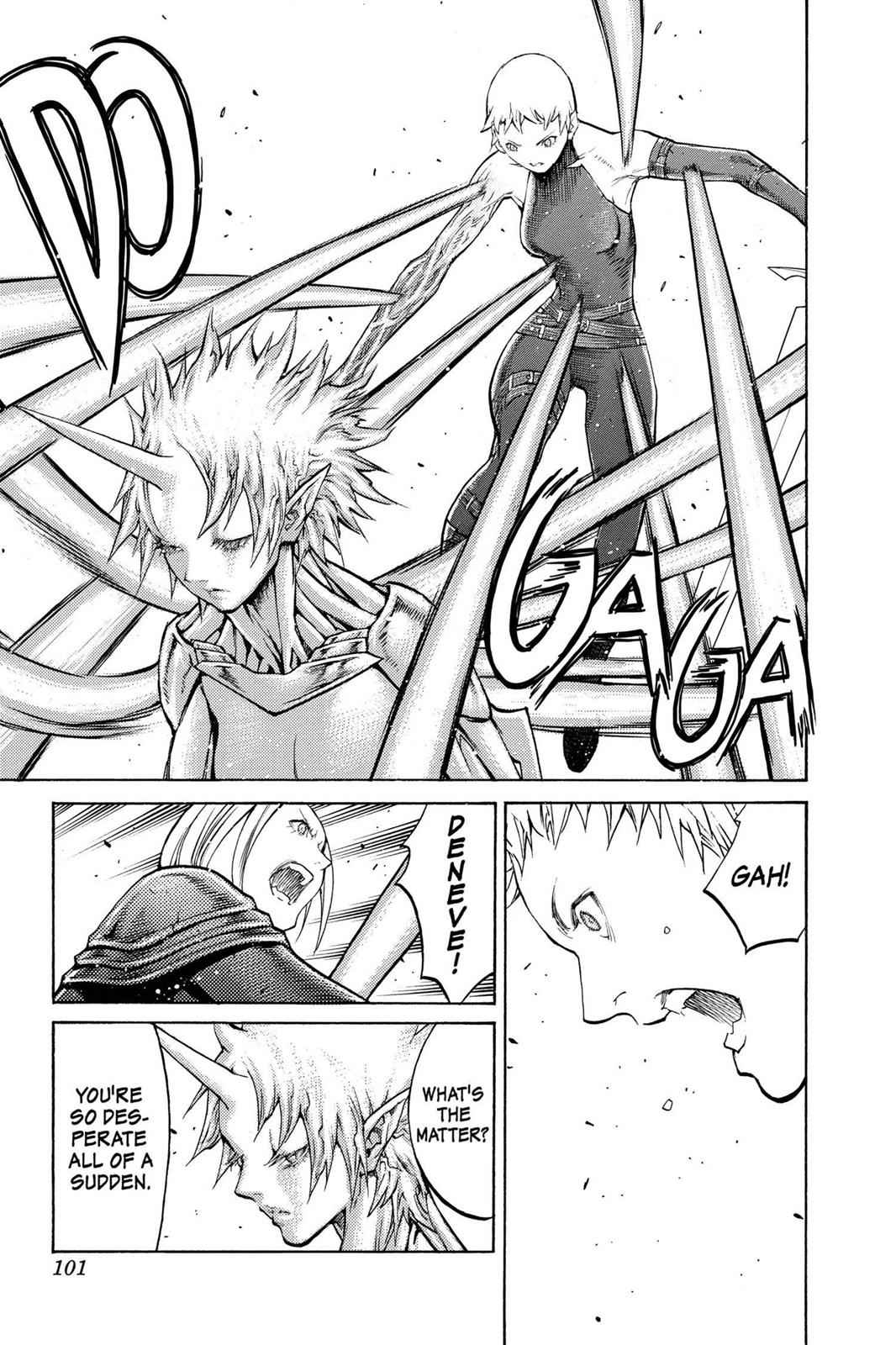 Claymore Chapter 105 Page 8