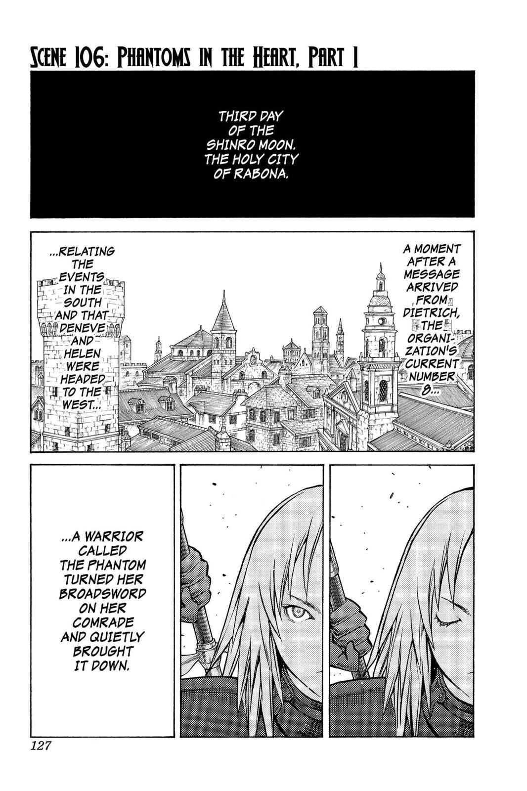 Claymore Chapter 106 Page 1