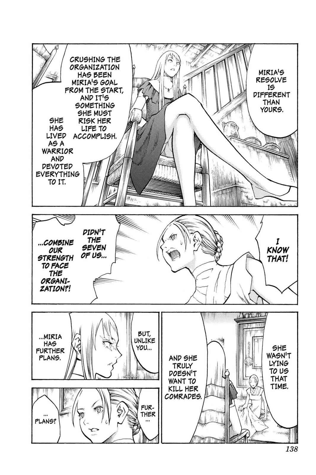 Claymore Chapter 106 Page 11