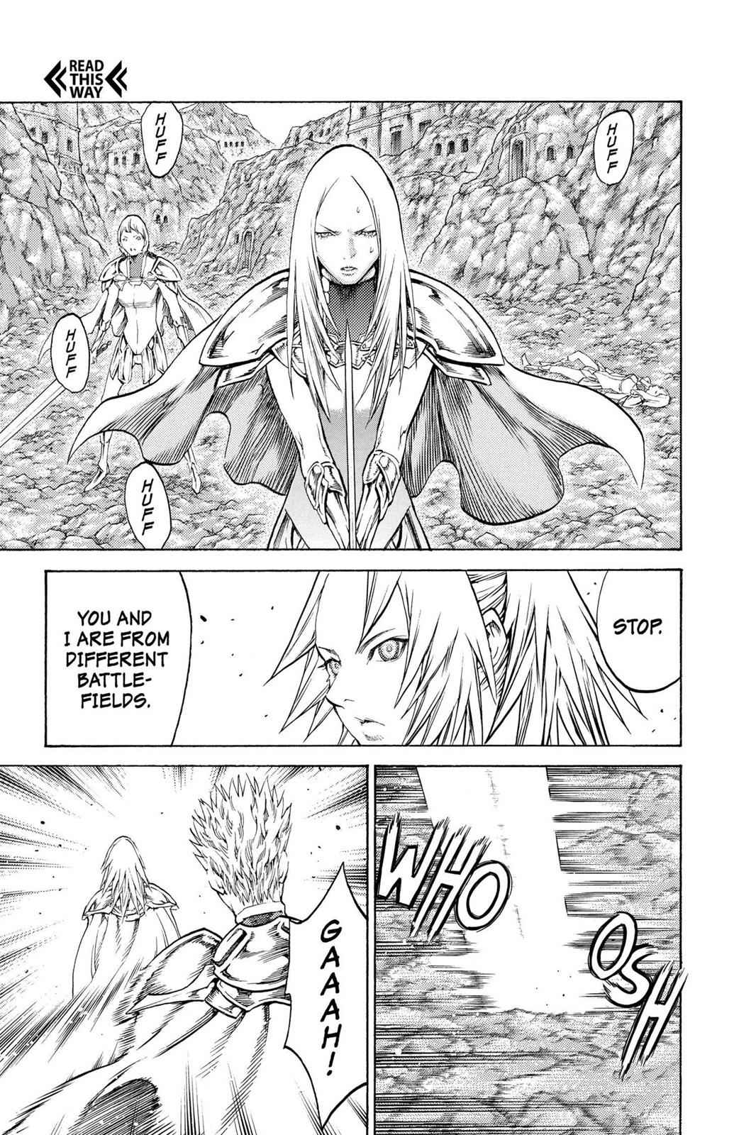 Claymore Chapter 106 Page 17
