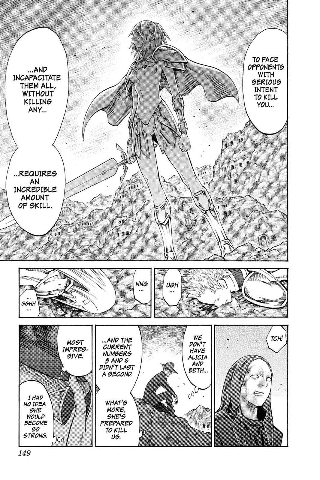 Claymore Chapter 106 Page 21