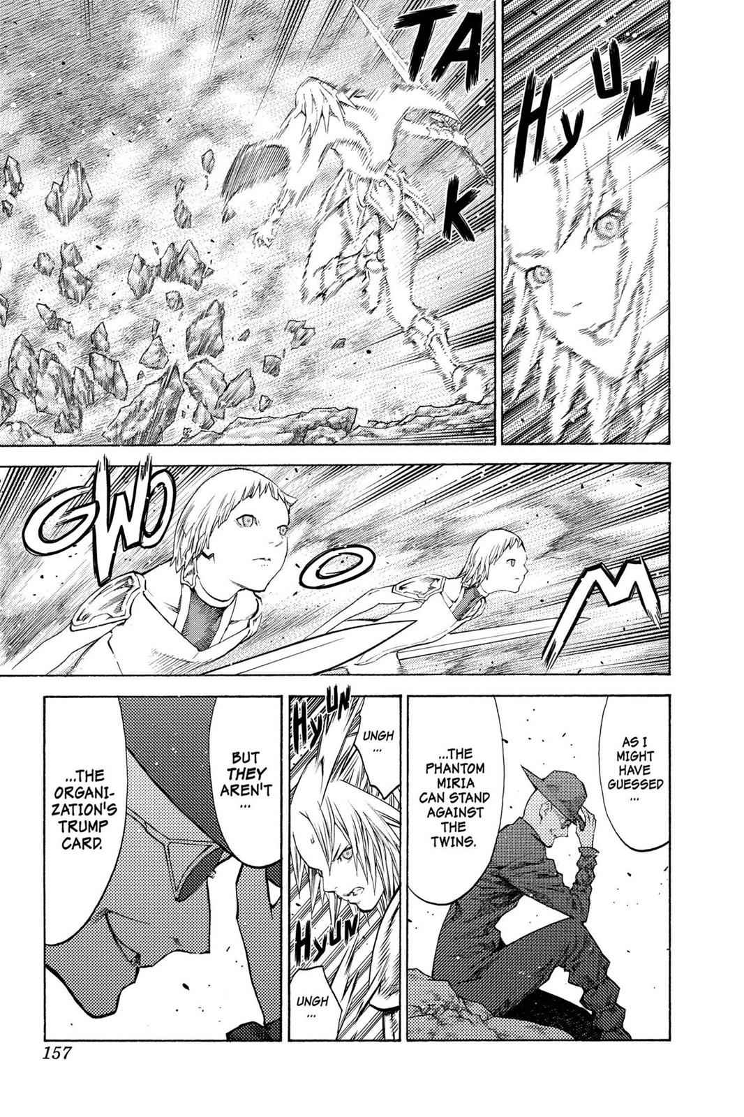 Claymore Chapter 106 Page 28