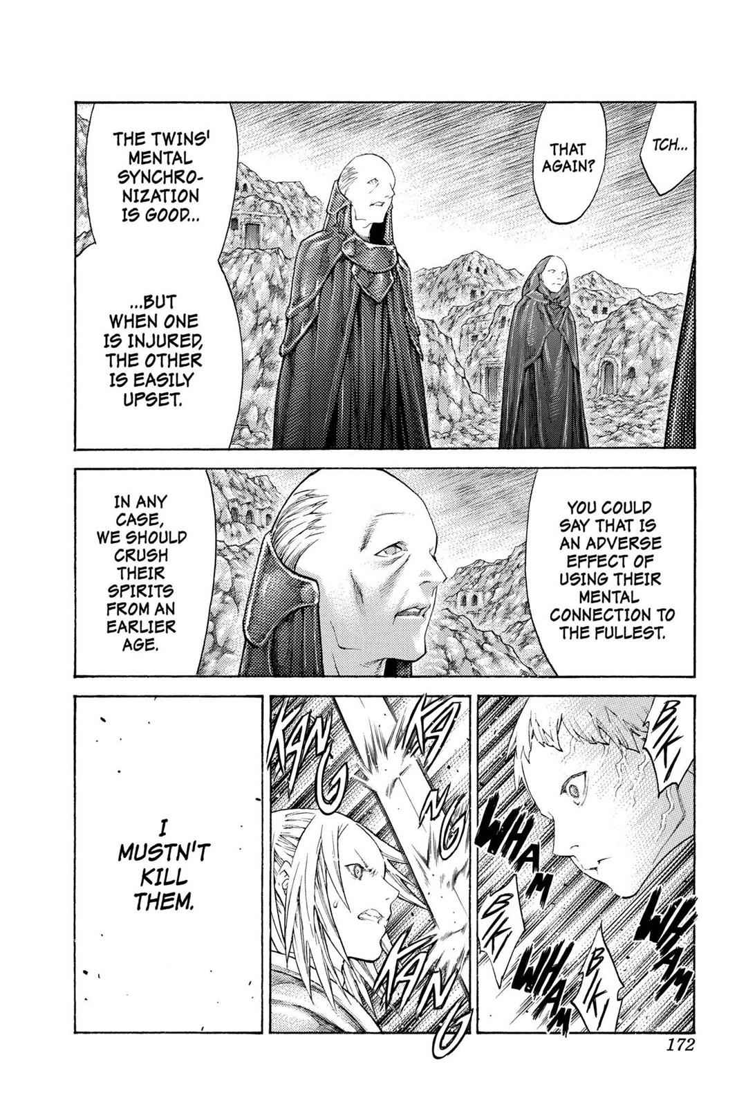 Claymore Chapter 107 Page 13