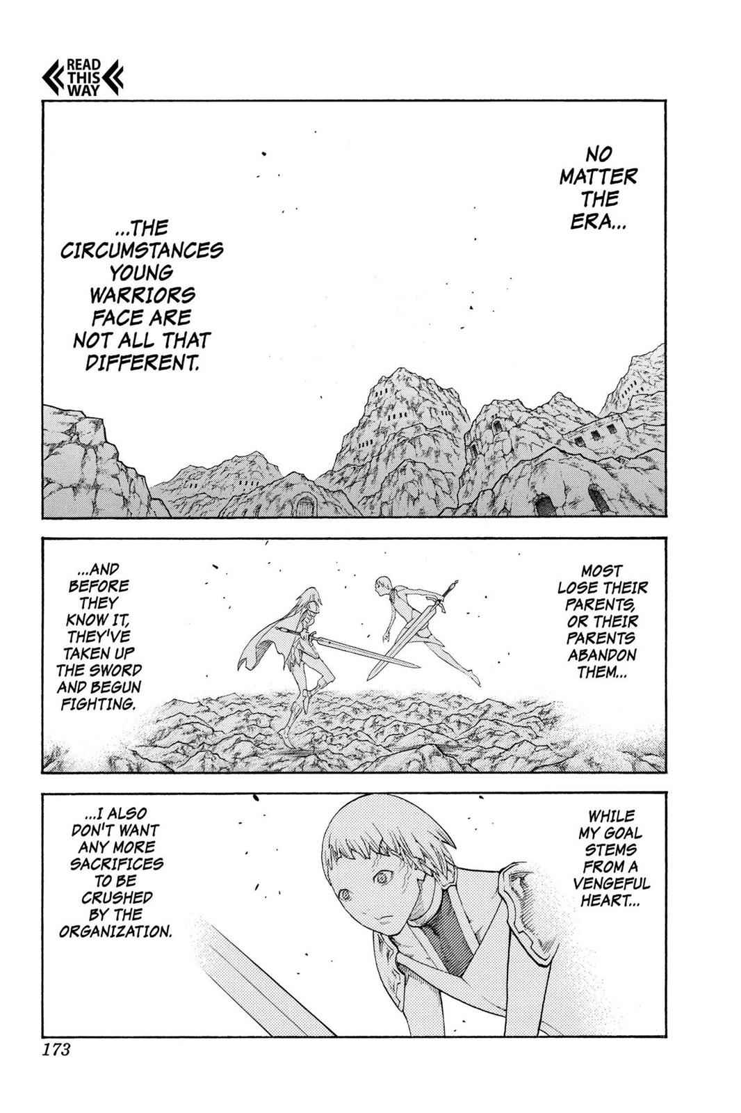 Claymore Chapter 107 Page 14