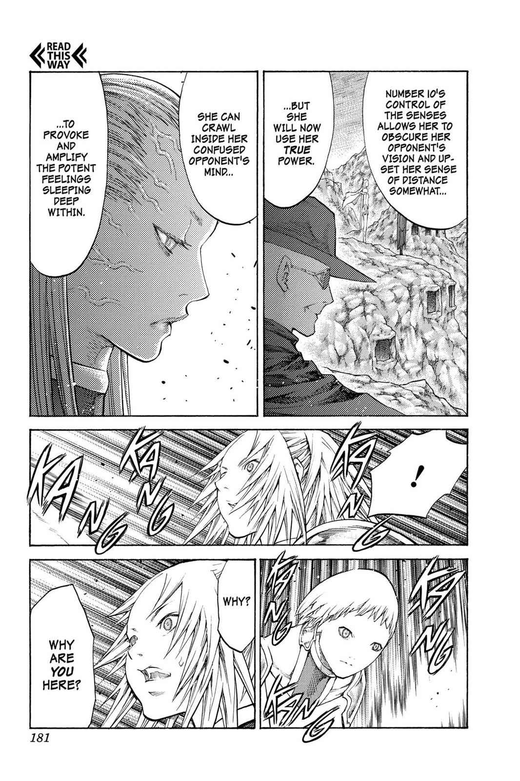 Claymore Chapter 107 Page 22