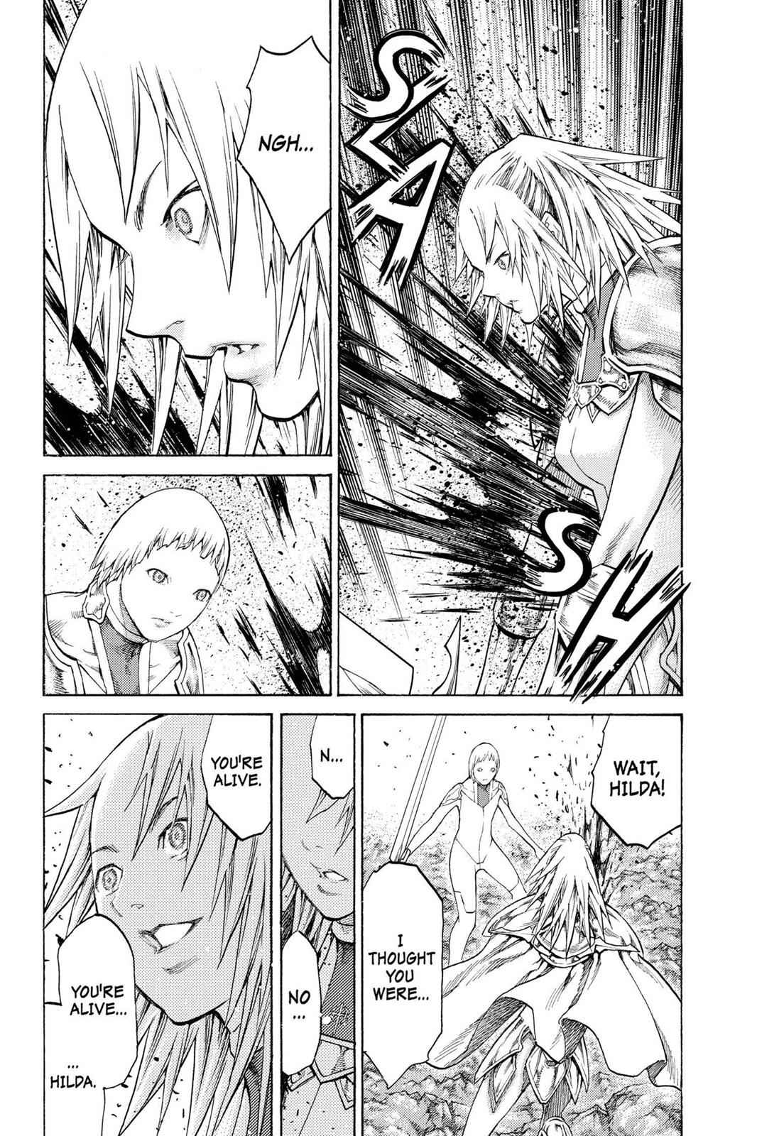 Claymore Chapter 107 Page 24
