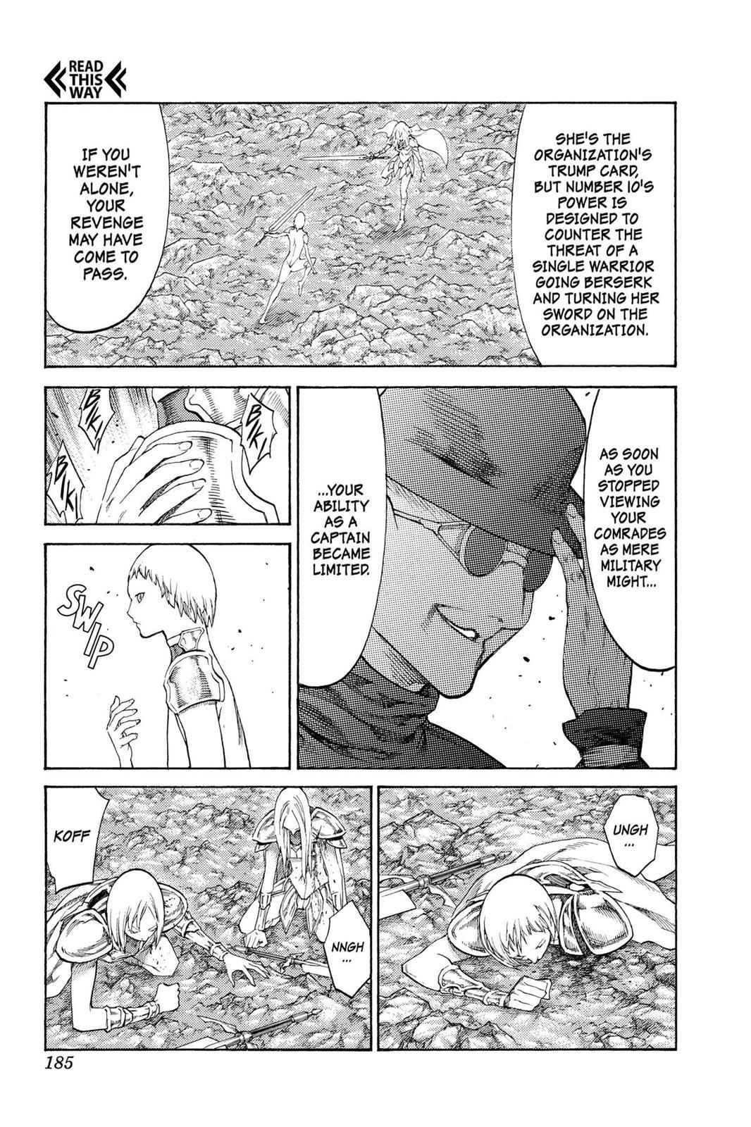 Claymore Chapter 107 Page 26