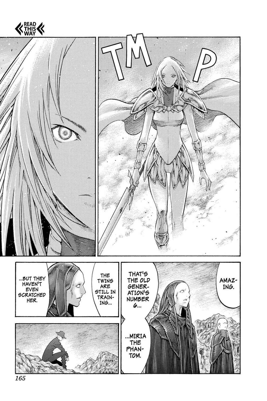 Claymore Chapter 107 Page 6
