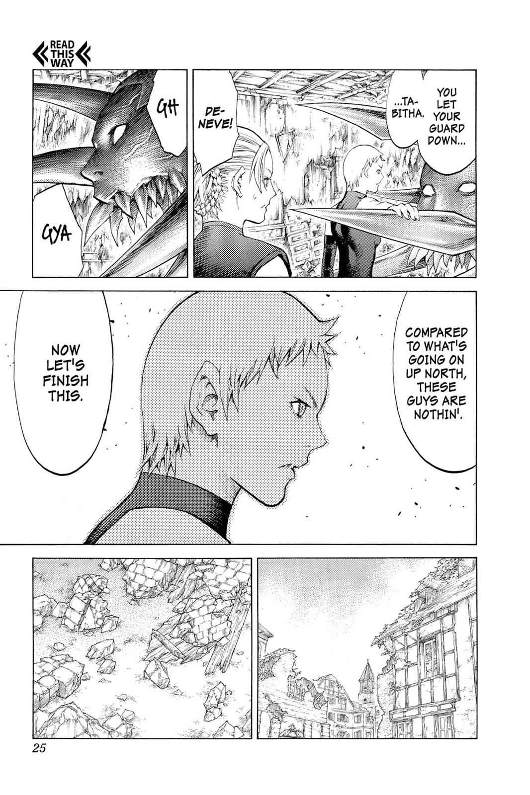 Claymore Chapter 108 Page 24