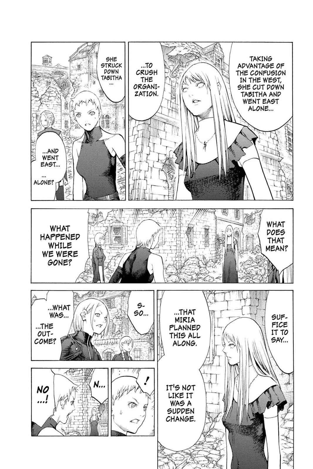 Claymore Chapter 108 Page 32