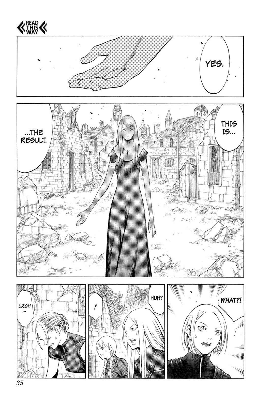 Claymore Chapter 108 Page 33