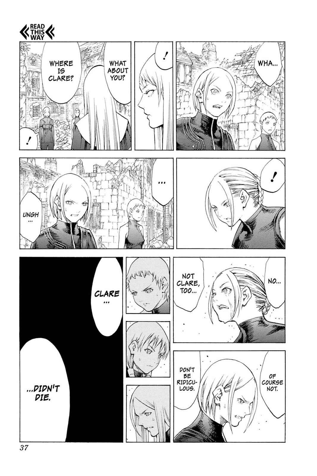 Claymore Chapter 108 Page 35