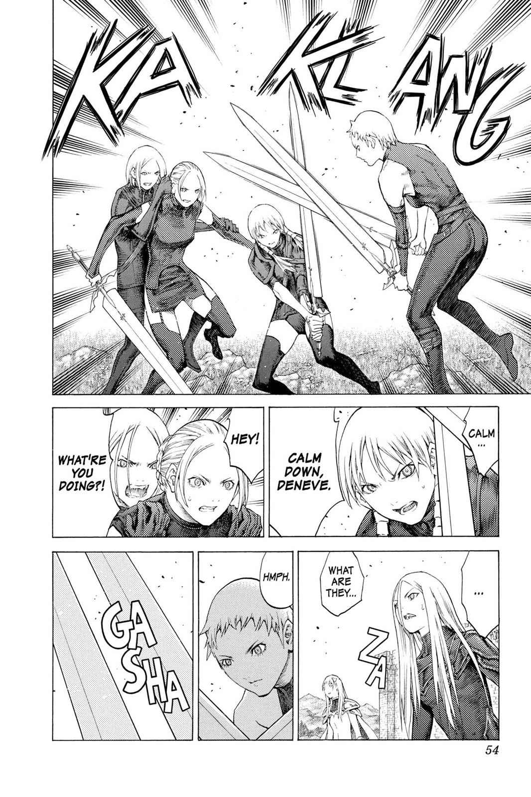 Claymore Chapter 109 Page 16
