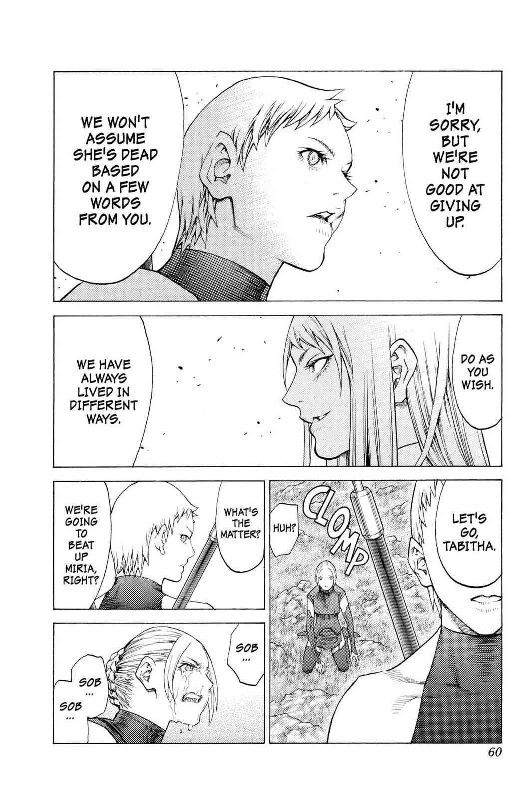 Claymore Chapter 109 Page 22