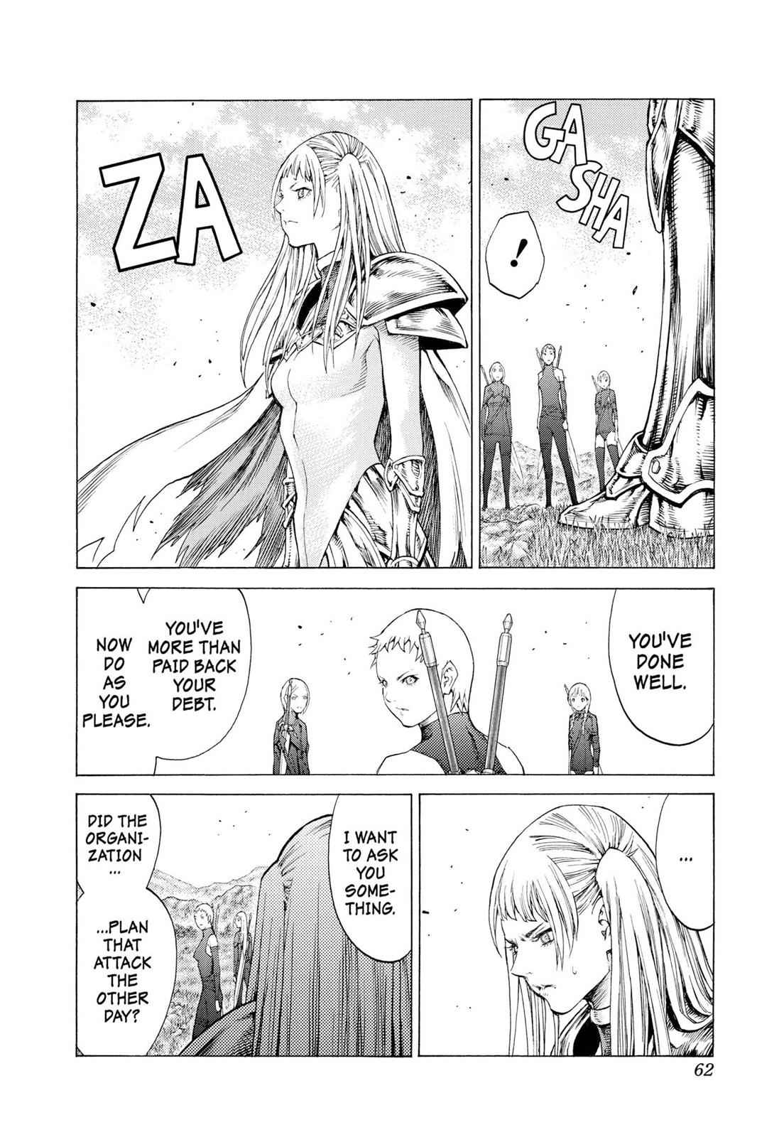 Claymore Chapter 109 Page 24