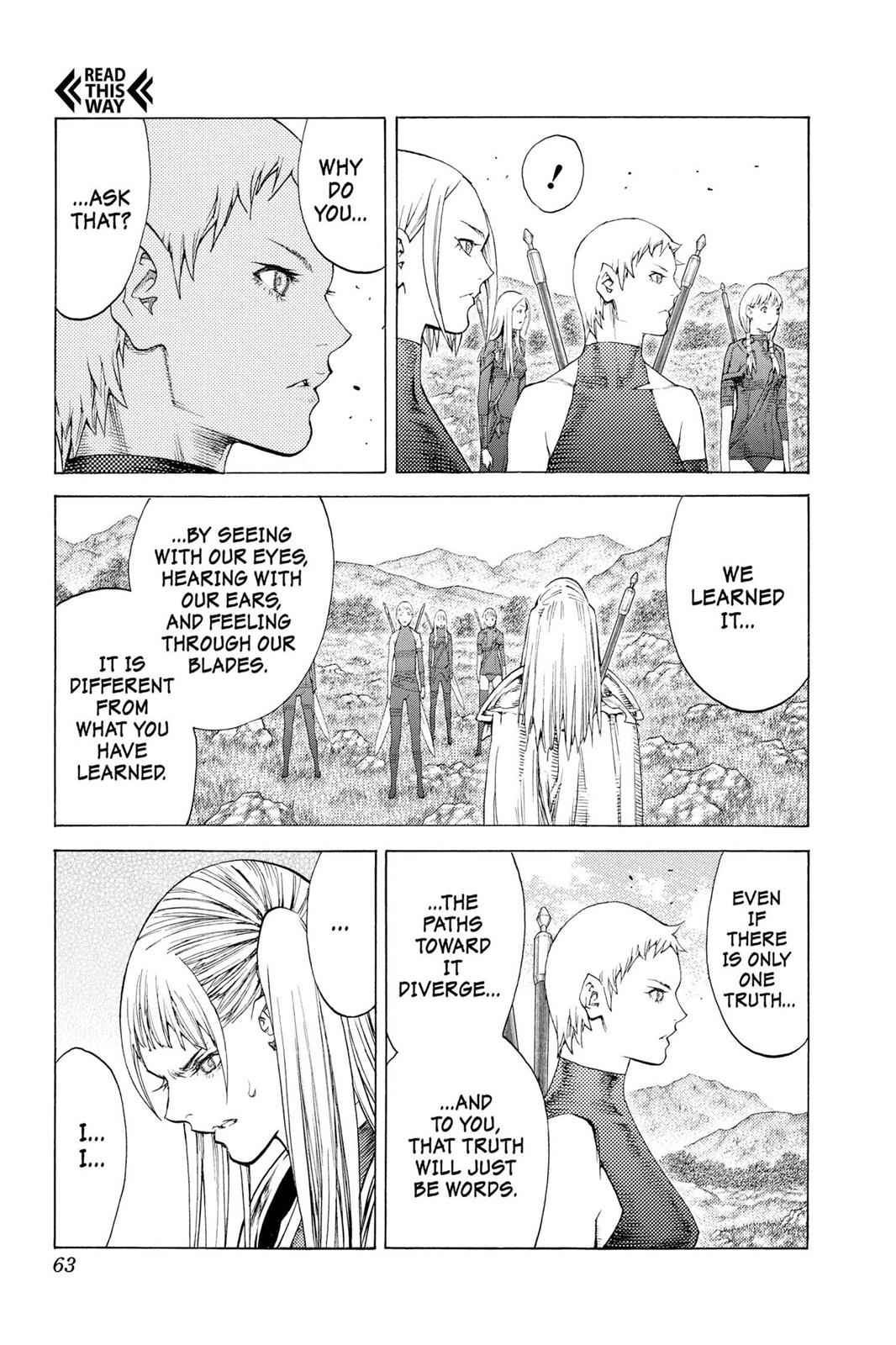 Claymore Chapter 109 Page 25