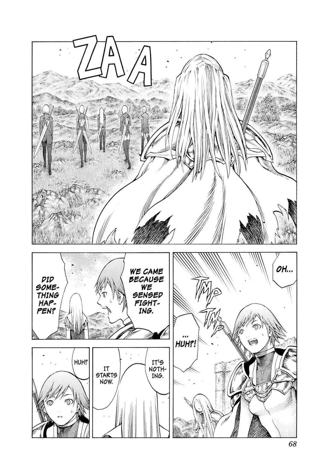 Claymore Chapter 109 Page 30