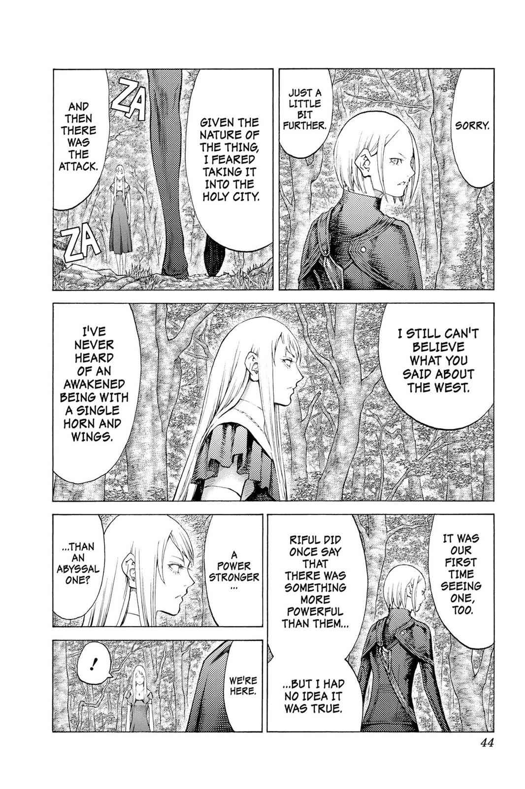 Claymore Chapter 109 Page 6