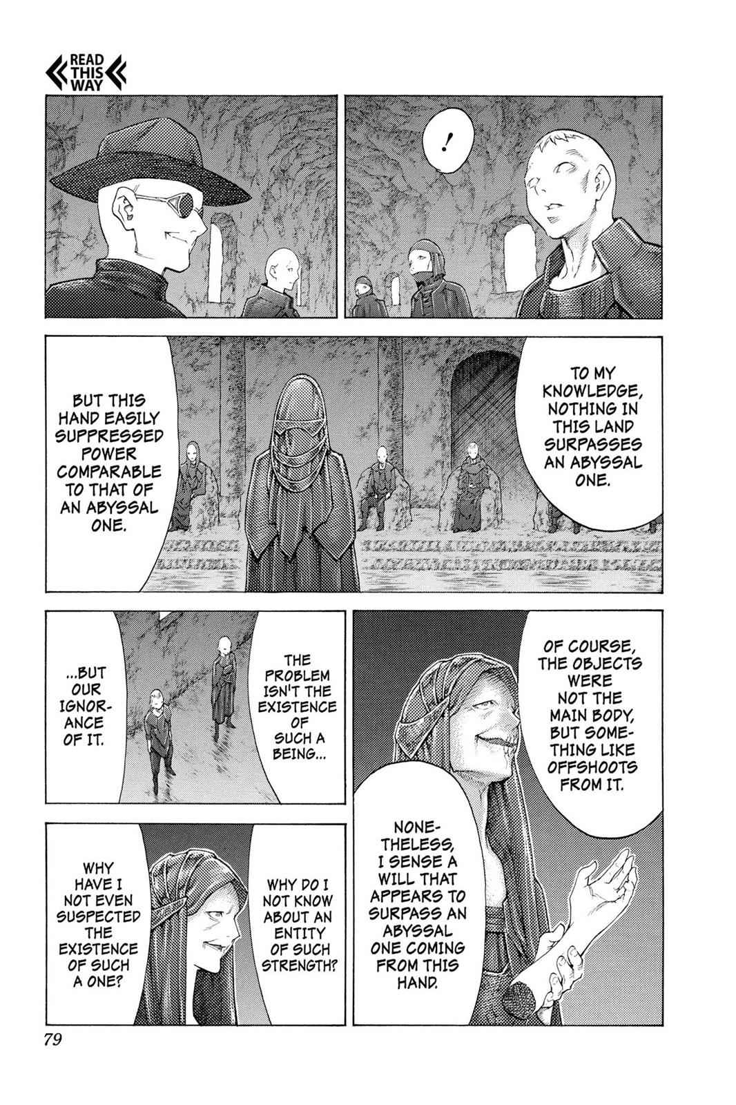 Claymore Chapter 110 Page 10