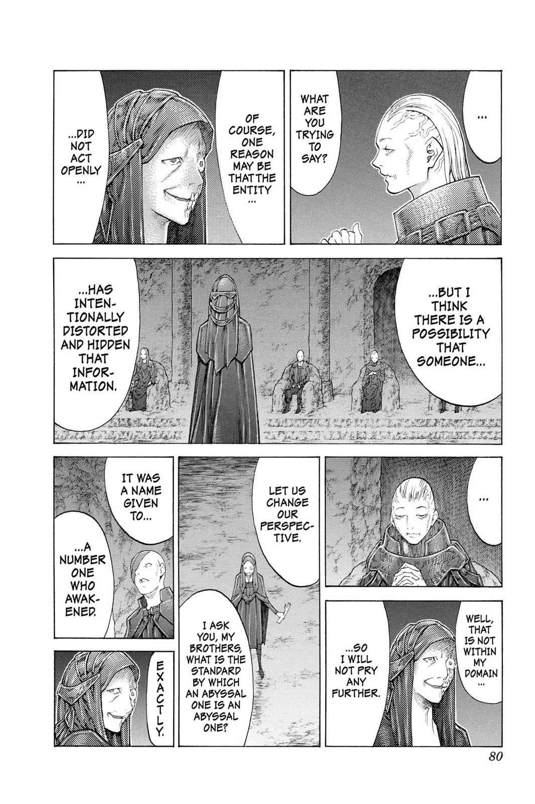 Claymore Chapter 110 Page 11