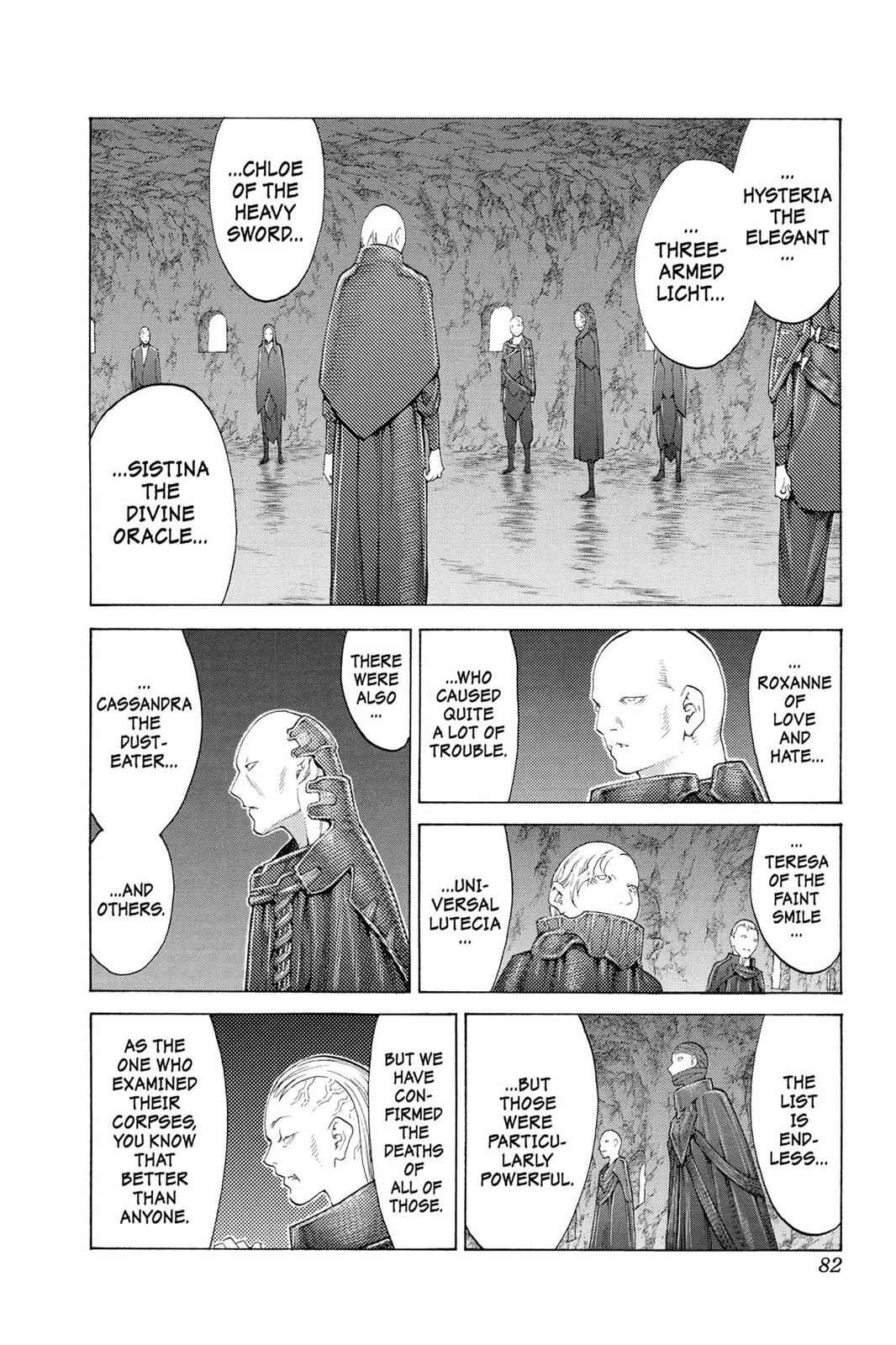 Claymore Chapter 110 Page 13