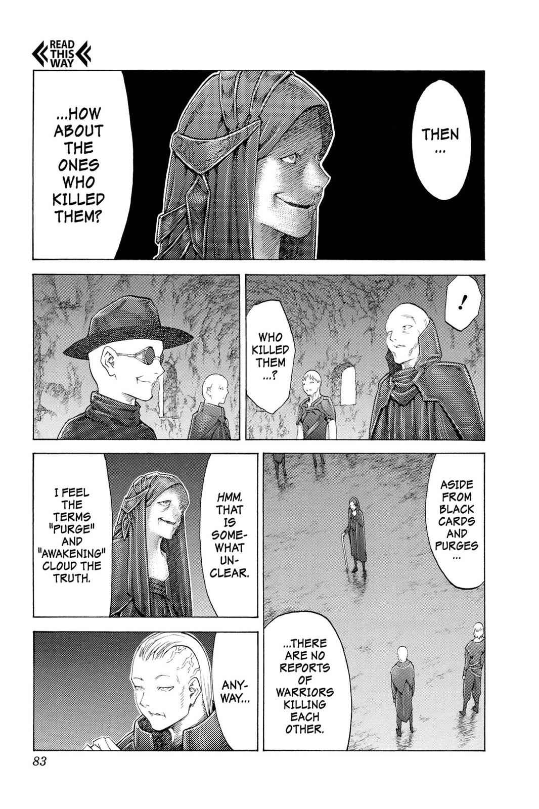 Claymore Chapter 110 Page 14