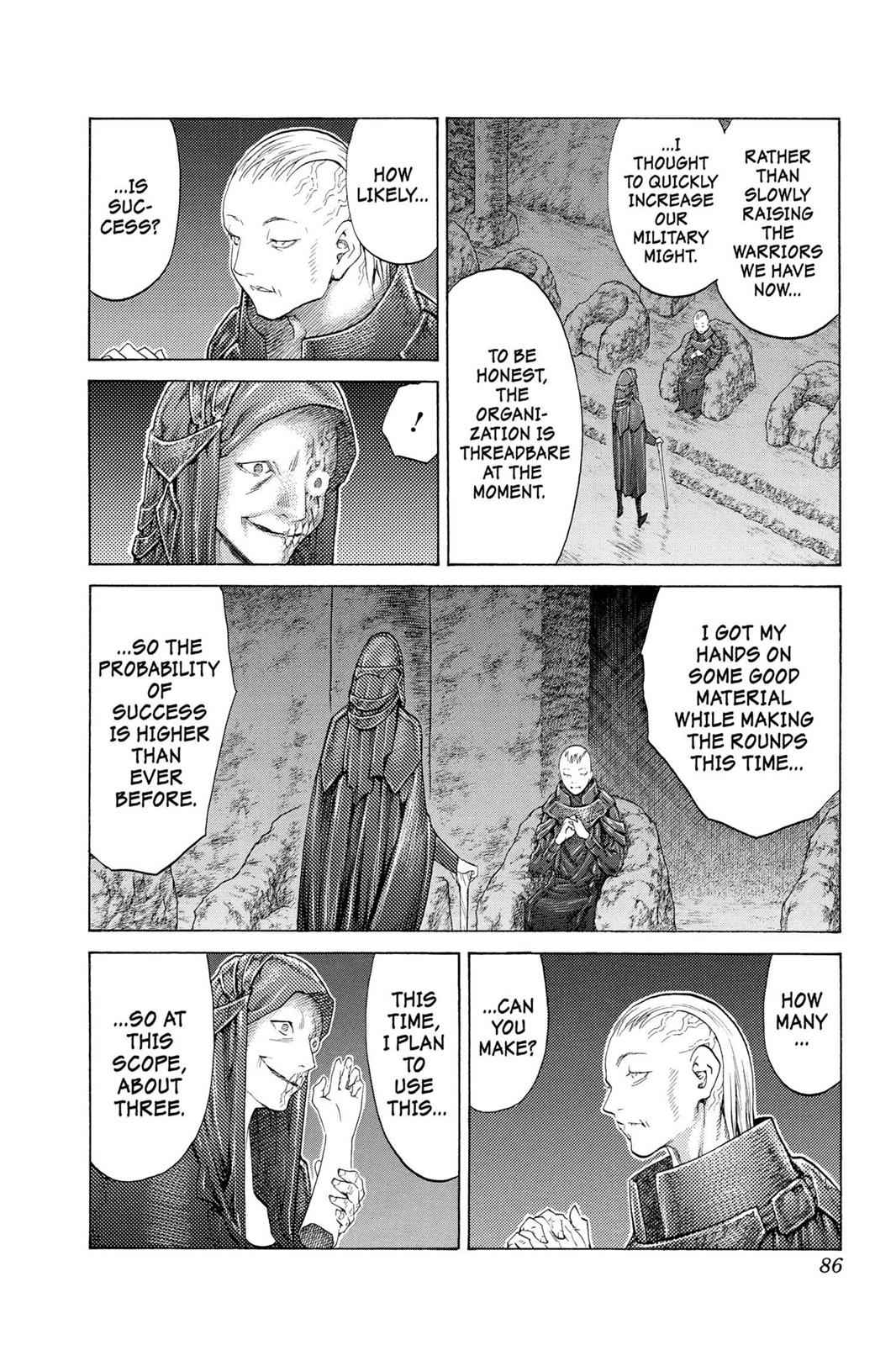 Claymore Chapter 110 Page 17