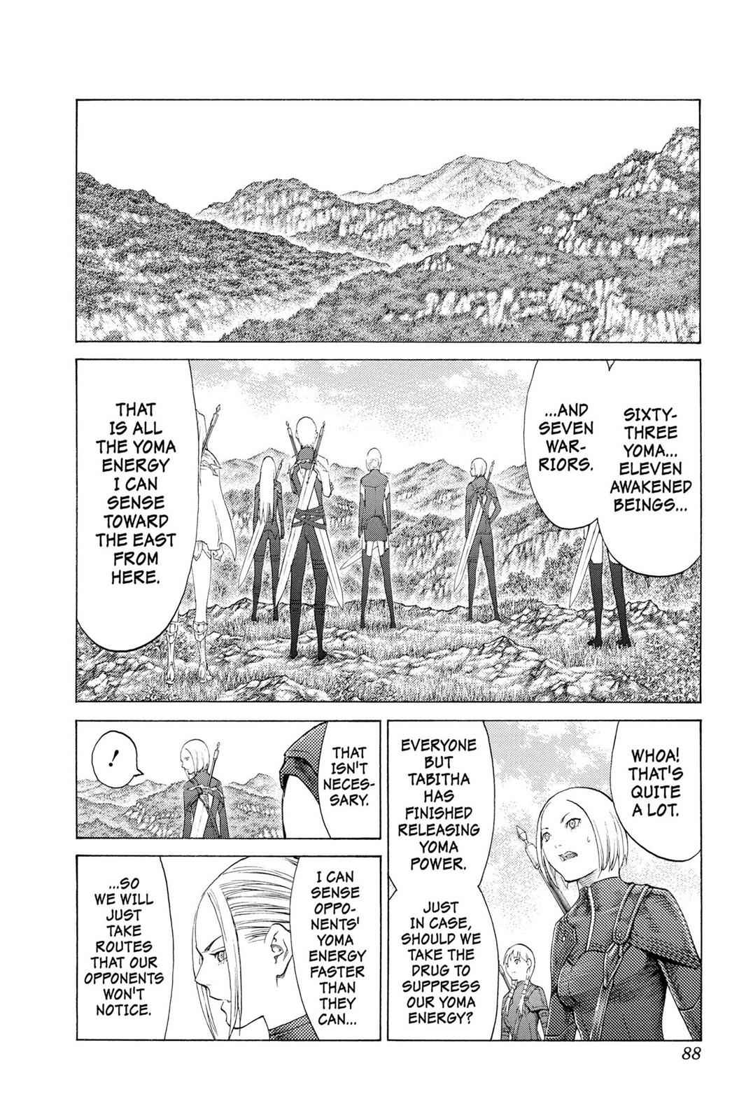 Claymore Chapter 110 Page 19