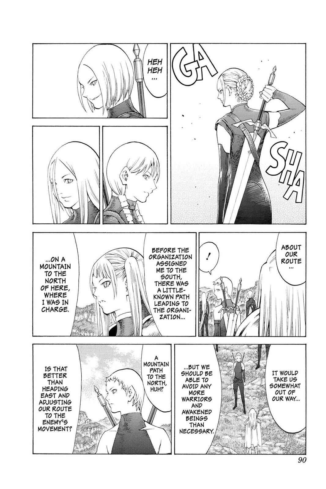 Claymore Chapter 110 Page 21