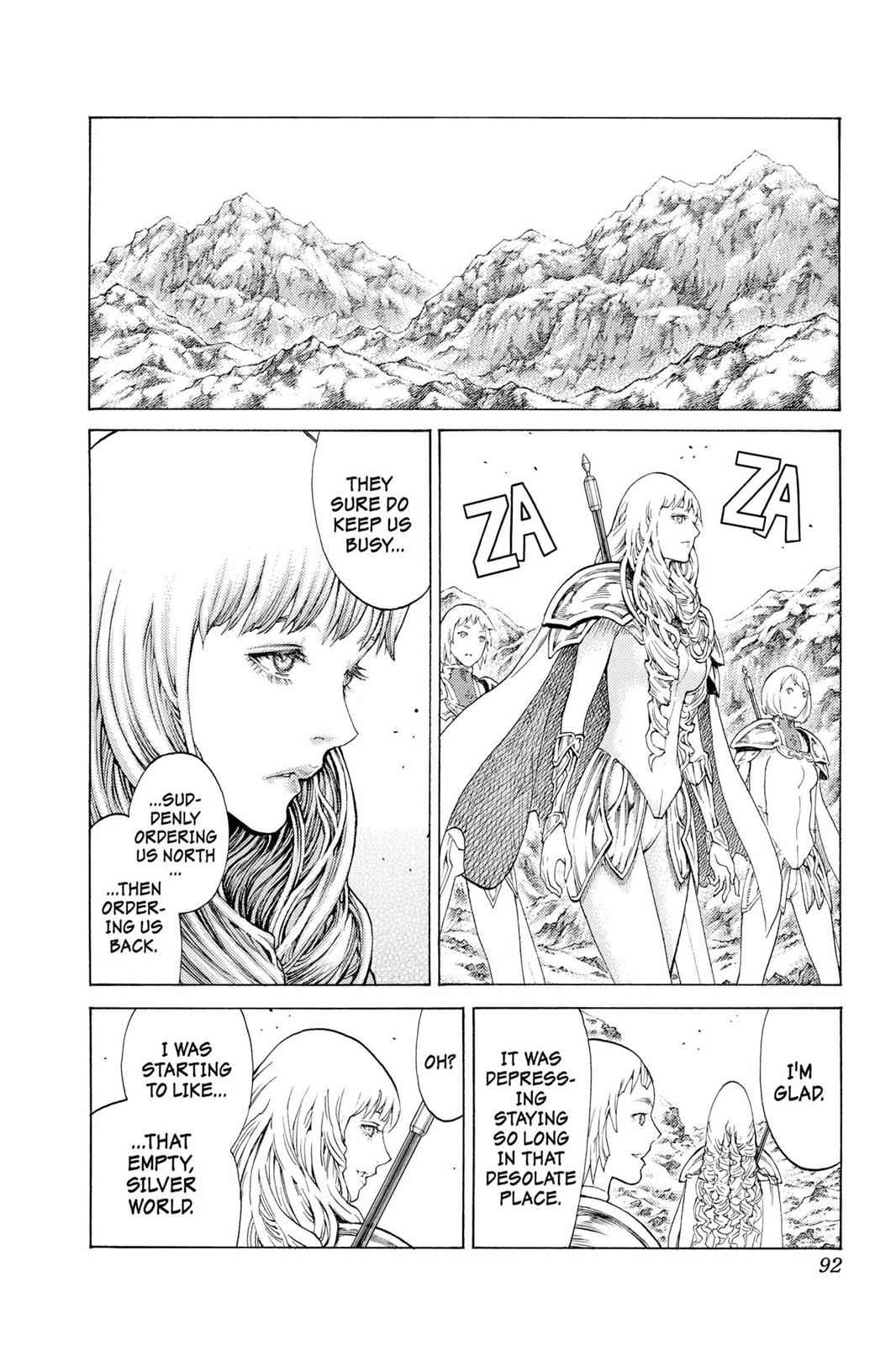 Claymore Chapter 110 Page 23