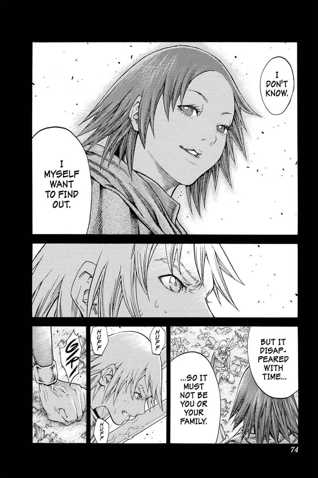 Claymore Chapter 110 Page 5