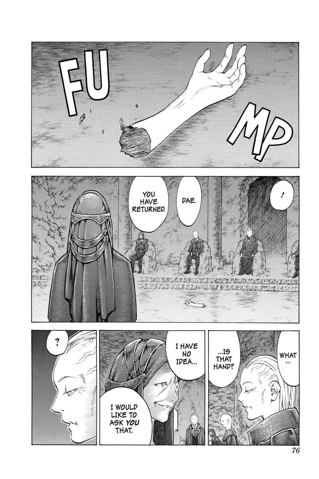Claymore Chapter 110 Page 7