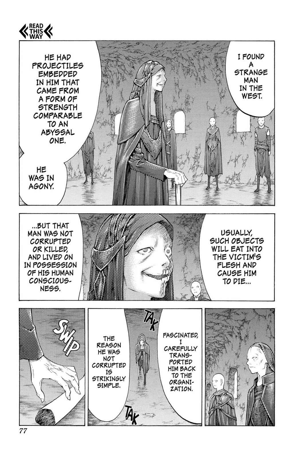 Claymore Chapter 110 Page 8