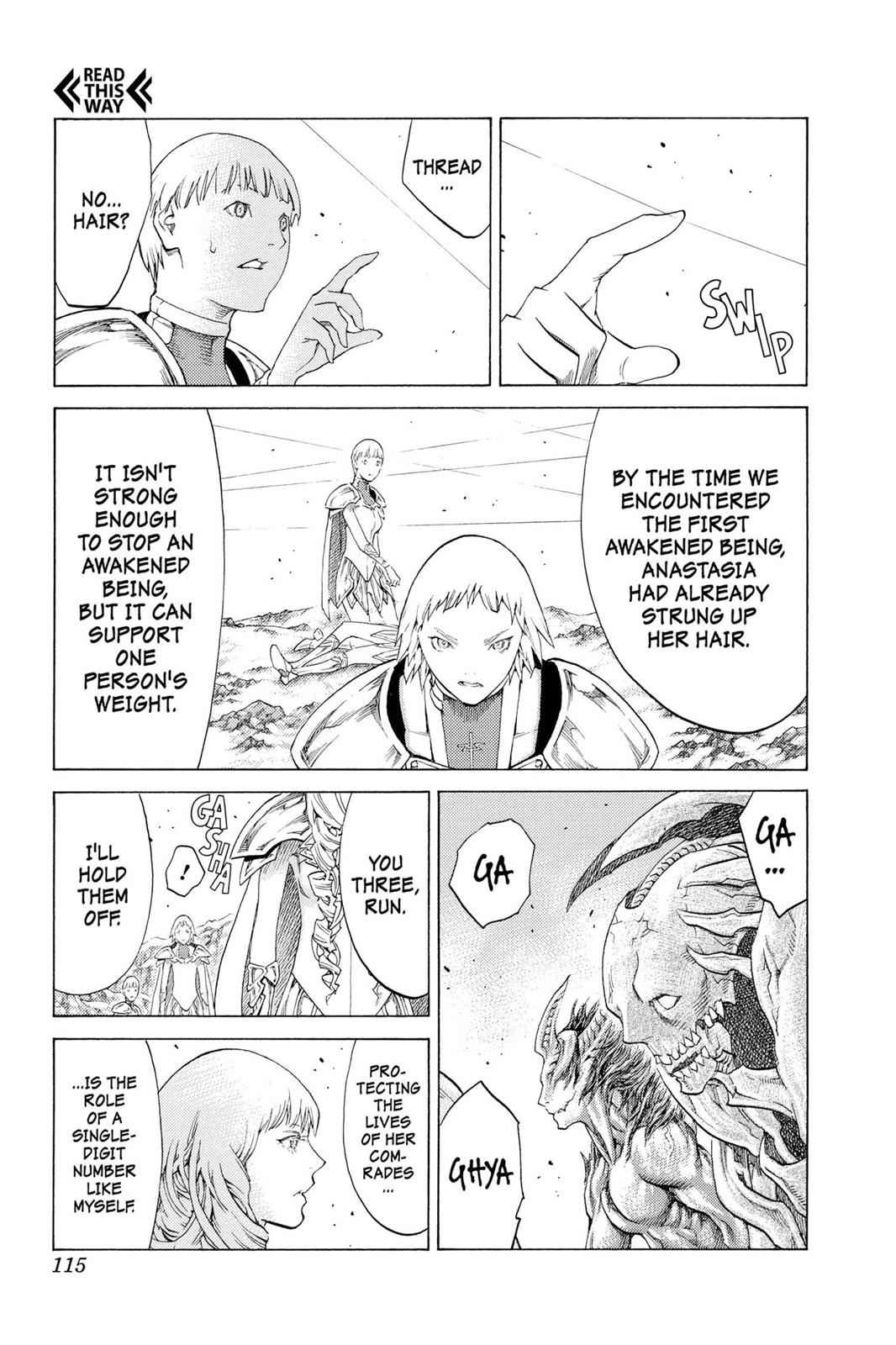 Claymore Chapter 111 Page 13