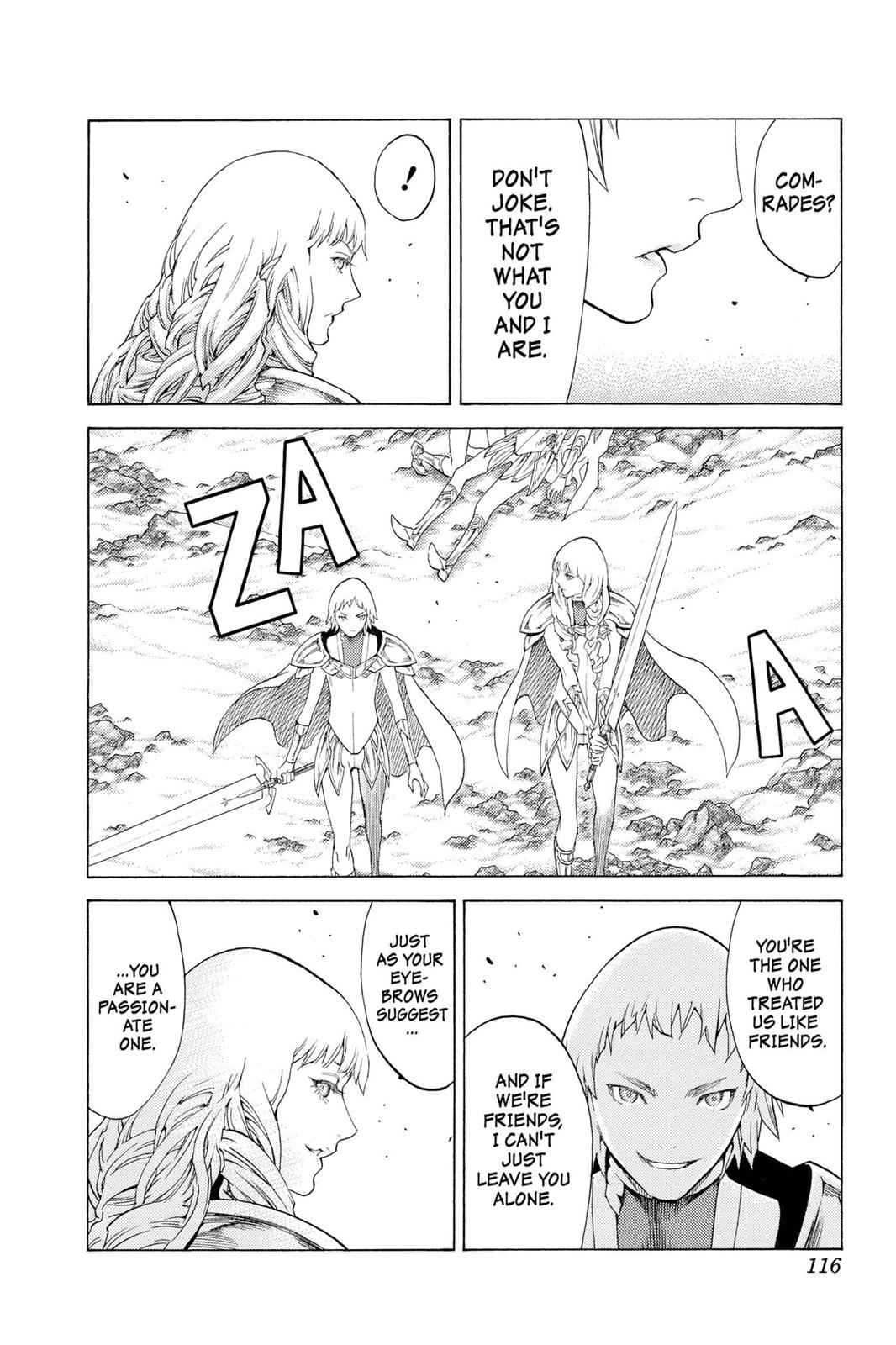 Claymore Chapter 111 Page 14