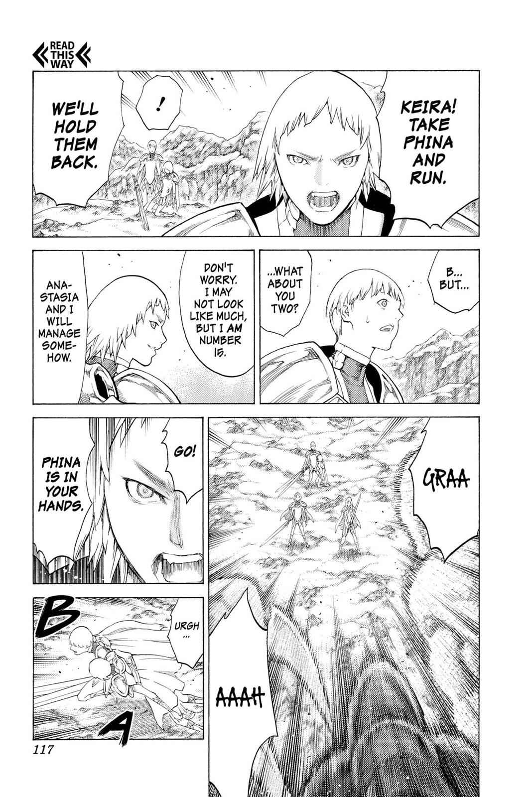 Claymore Chapter 111 Page 15