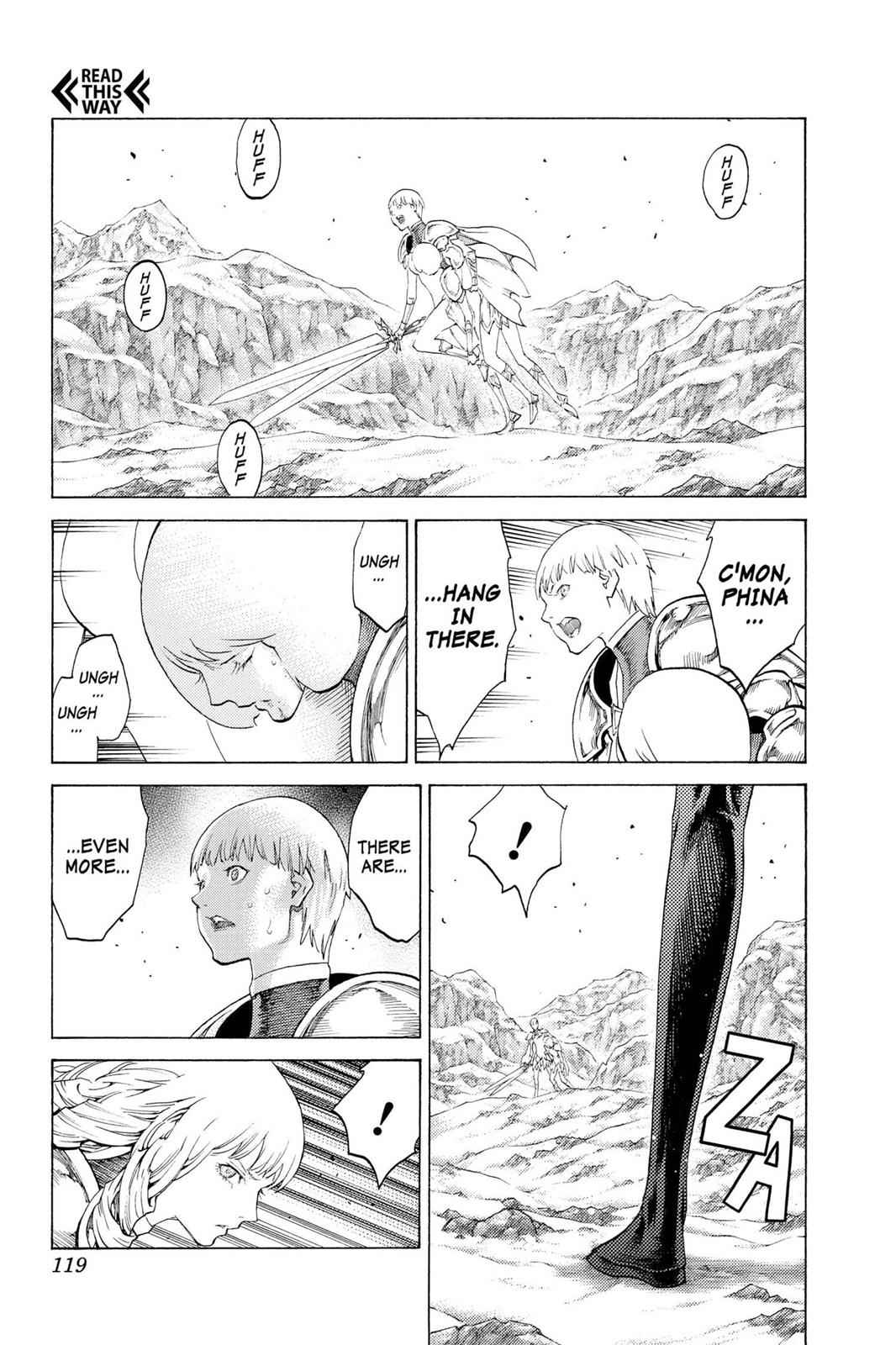 Claymore Chapter 111 Page 17