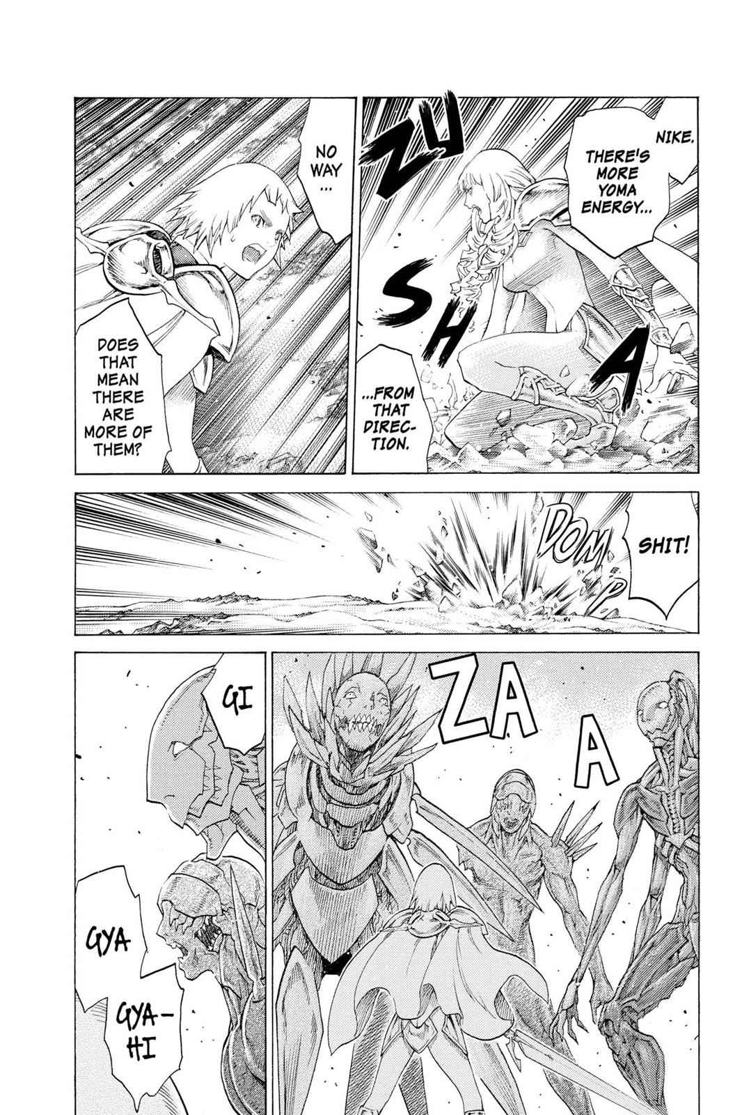 Claymore Chapter 111 Page 18