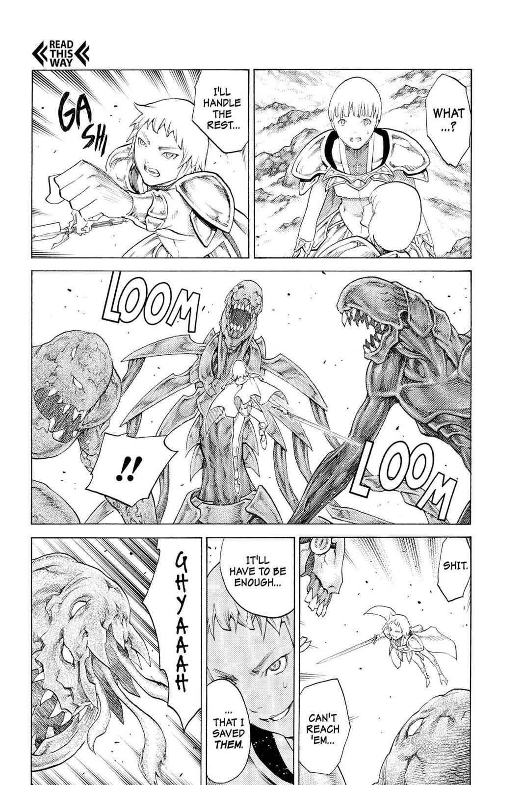 Claymore Chapter 111 Page 9