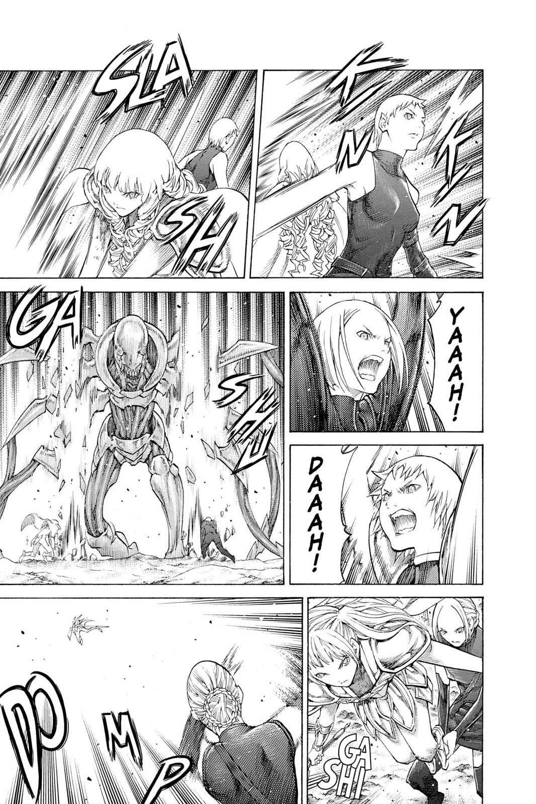 Claymore Chapter 112 Page 10