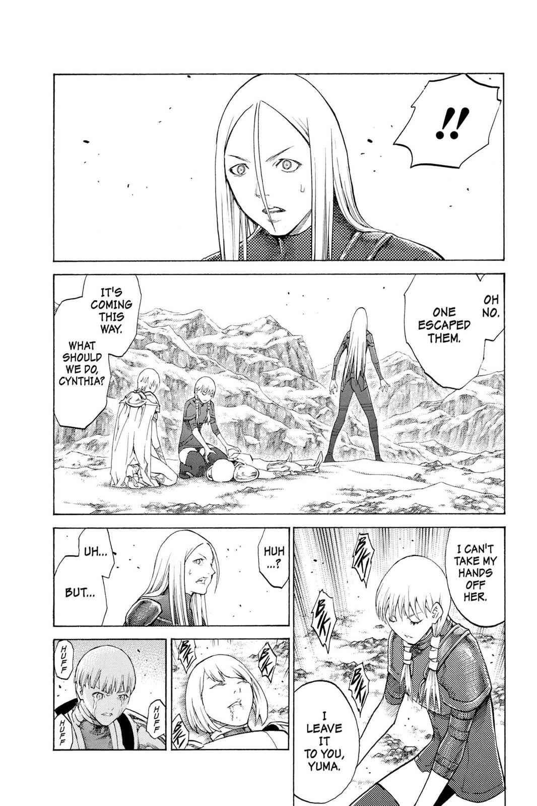 Claymore Chapter 112 Page 13
