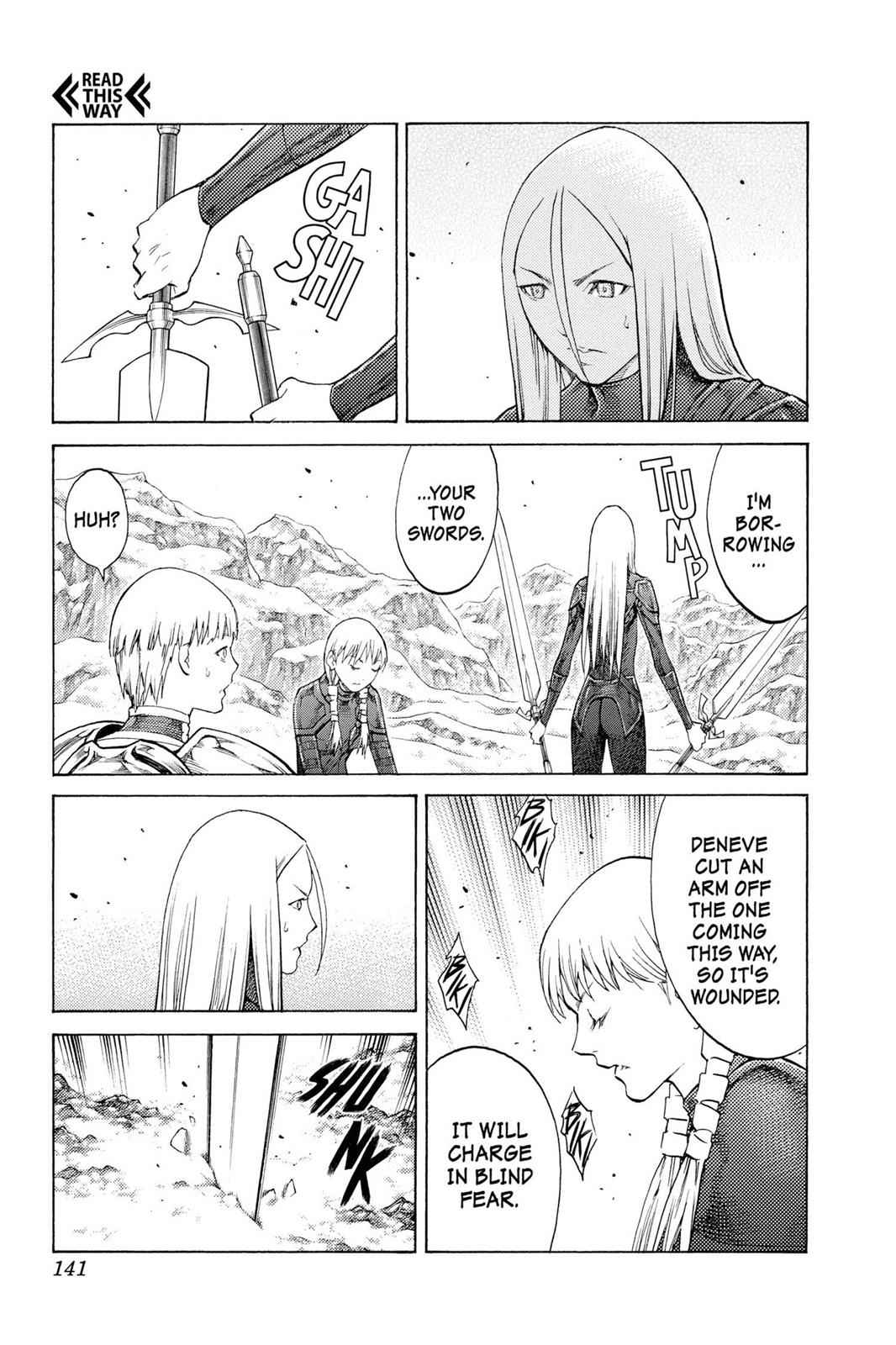 Claymore Chapter 112 Page 14