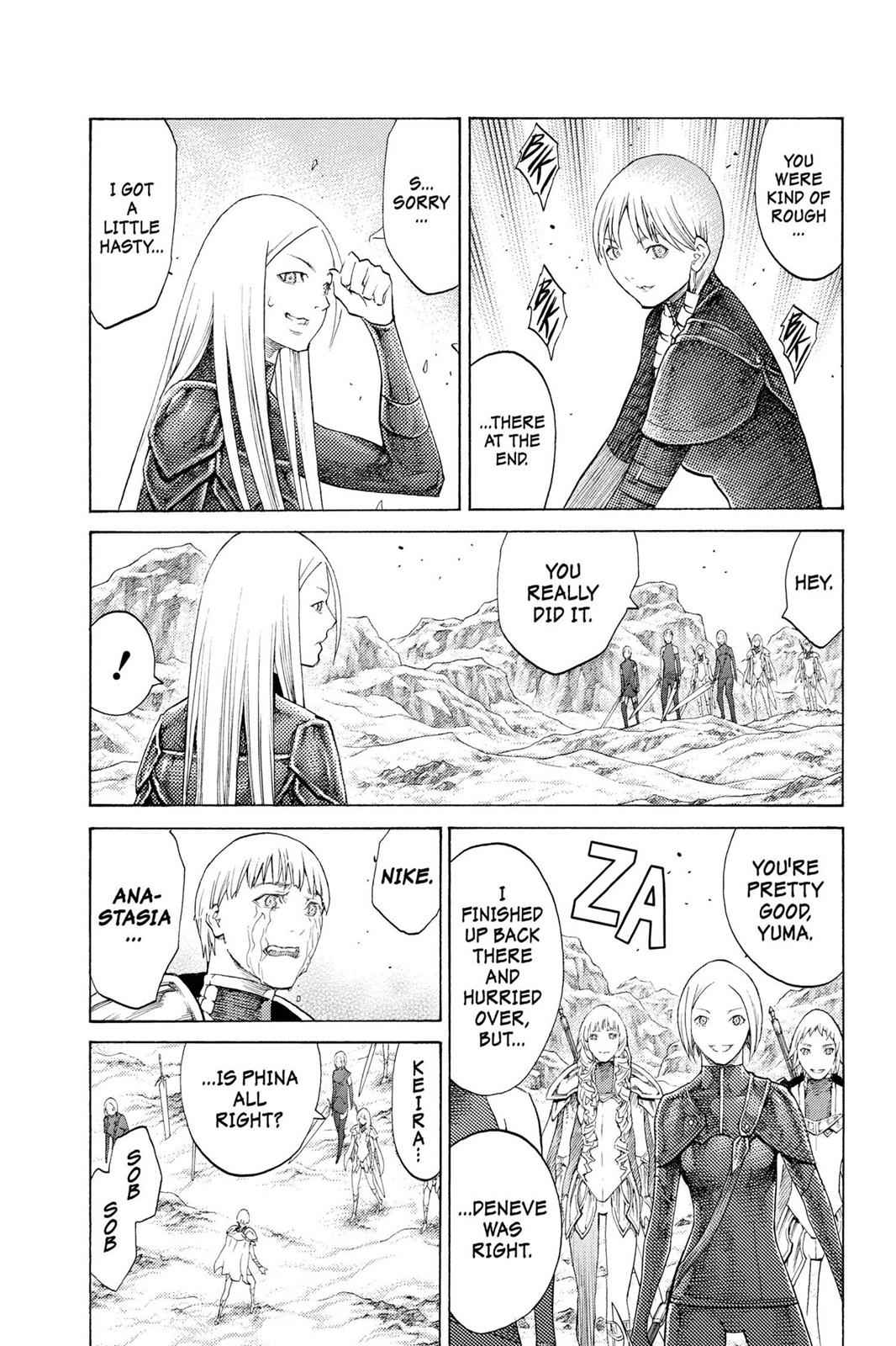 Claymore Chapter 112 Page 19