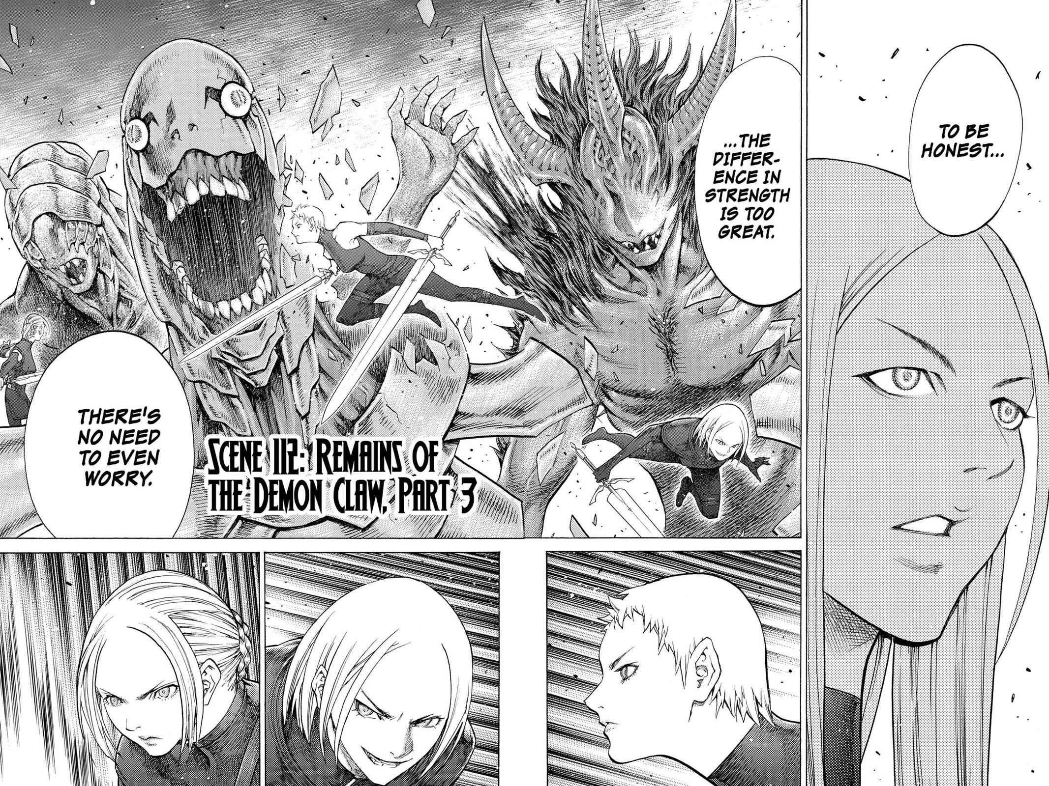 Claymore Chapter 112 Page 2